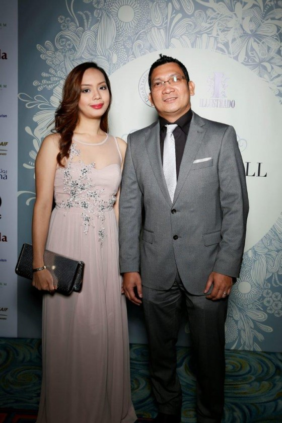 Vanessa and Rolly from Ayala Land International