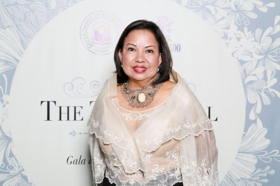 Lucille Ong - former Philippine Business Council of Dubai Chairman