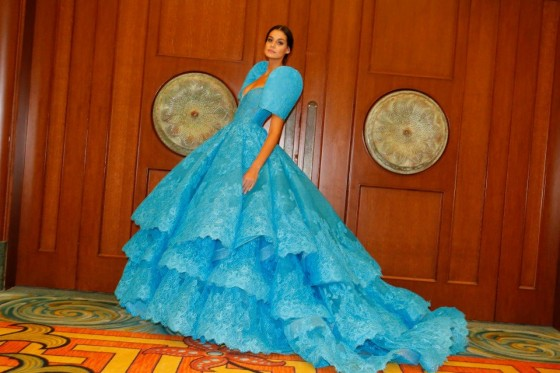 Michael Cinco's Terno