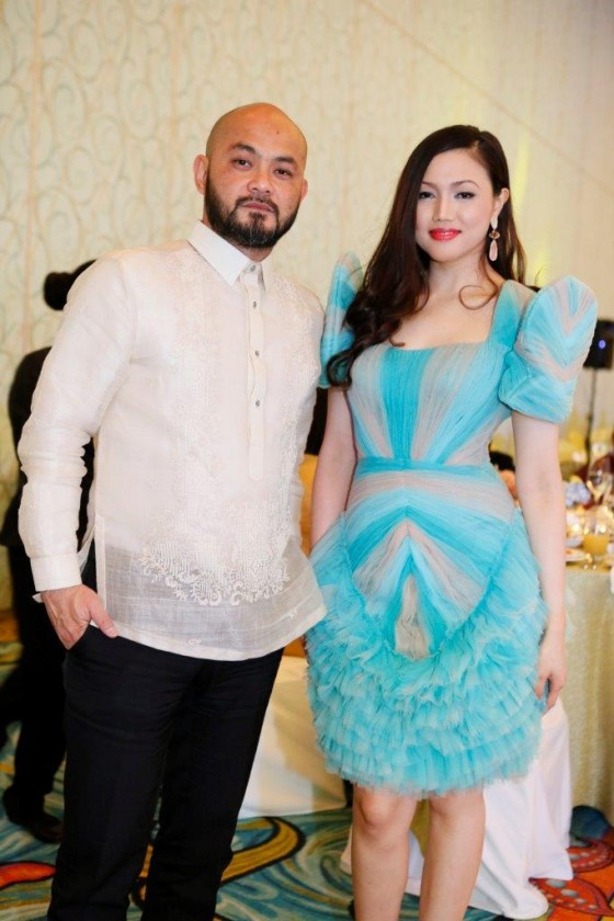 Fashion Forward founder Bong Guerrero and companion