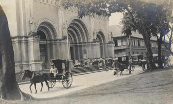 manila cathedral 1915