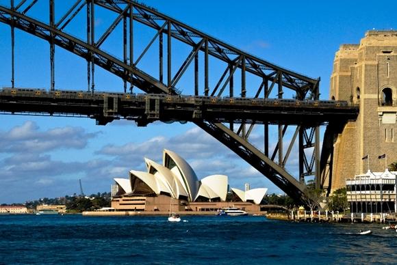 Bridge and Opera House - Day at Sydney Australia