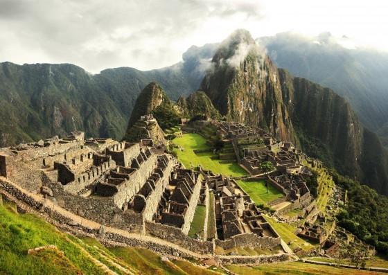 The lost Incan city in Peru