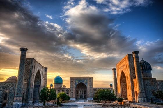 Places in Uzbekistan