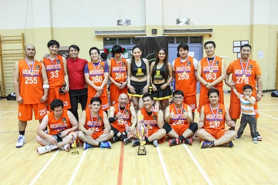 Architects Basketball Association DARK KNIGHTS CHAMPIONS