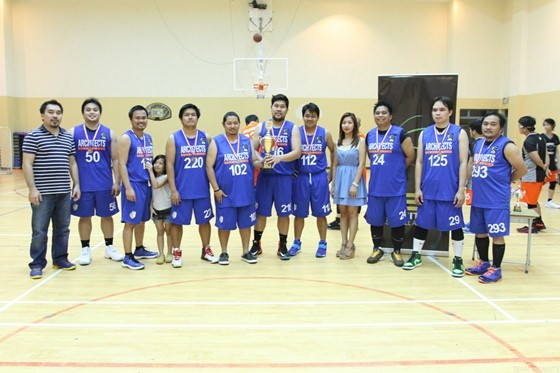 Architects Basketball Association 3RD PLACE VENOM