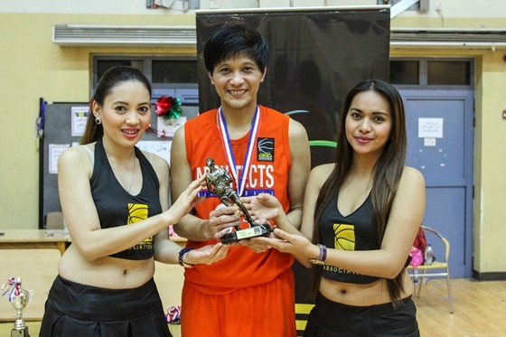Architects Basketball Association SEASON 4 MVP Paolo Jansalin