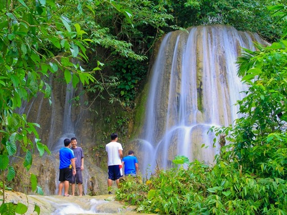 Engkanto Falls in Naga