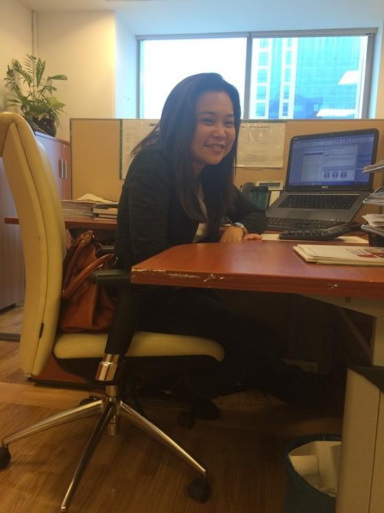 Cristina Rita Casiple - Filipino in Dubai