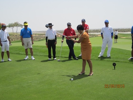 Philippine Ambassador Golf Tournament Her Excellency Grace Princesa