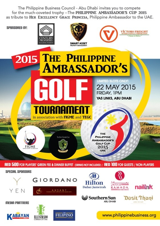 Philippine Ambassador Golf Tournament 2015
