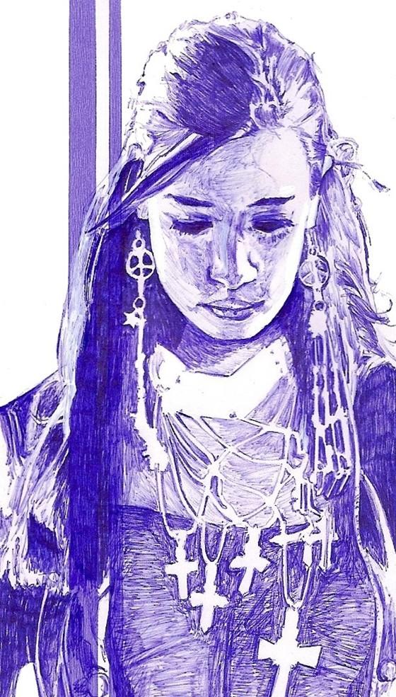 Unique Artwork Paperhat by Christian Van Maele 4