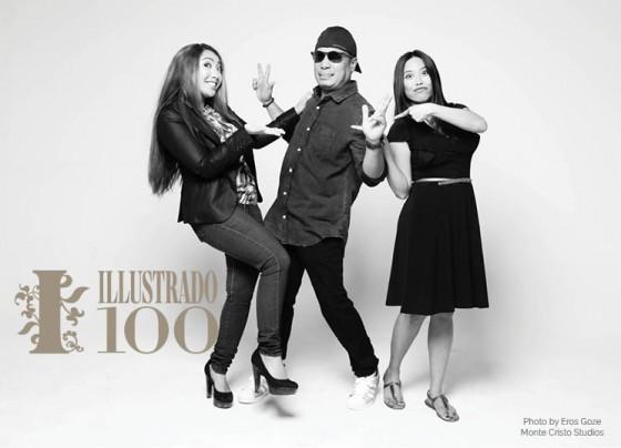Radio Pinoys - Louie Da Costa, Bluebird, Zeena Zalamea - Photo by Eros Goze for Illustrado Magazine