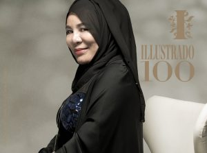 WAFA QASIMIEH - Illustrado Most Influential Filipinos in the Gulf - Photo by Alex Callueng, Asst Photog - Bethoven Filomeno