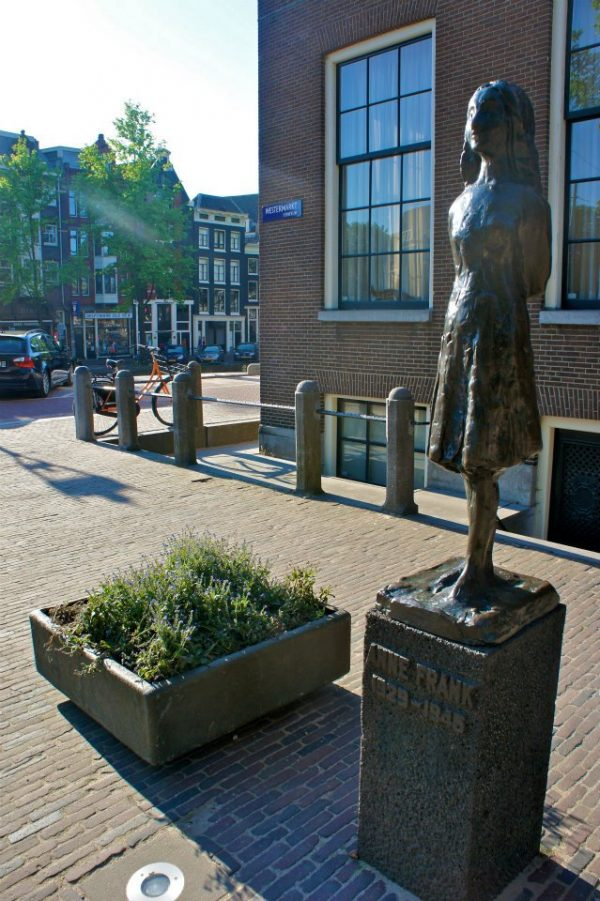 ANNE FRANK IN AMSTERDAM, NETHERLANDS