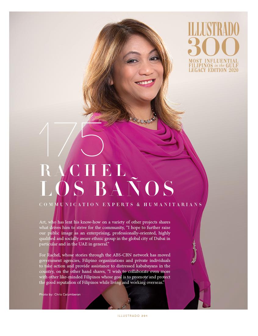 Art and Rachel Los Baños - Illustrado 300 Most Influential Filipinos in the Gulf