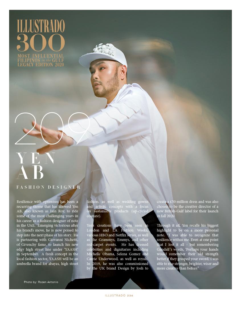 Yen AB - Illustrado 300 Most Influential Filipinos in the Gulf