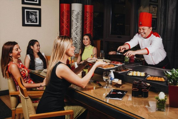New Menu at Benihana