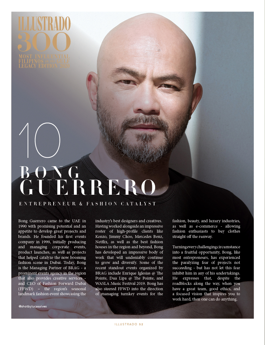 Bong Guerrero - Illustrado 300 Most Influential Filipinos in the Gulf