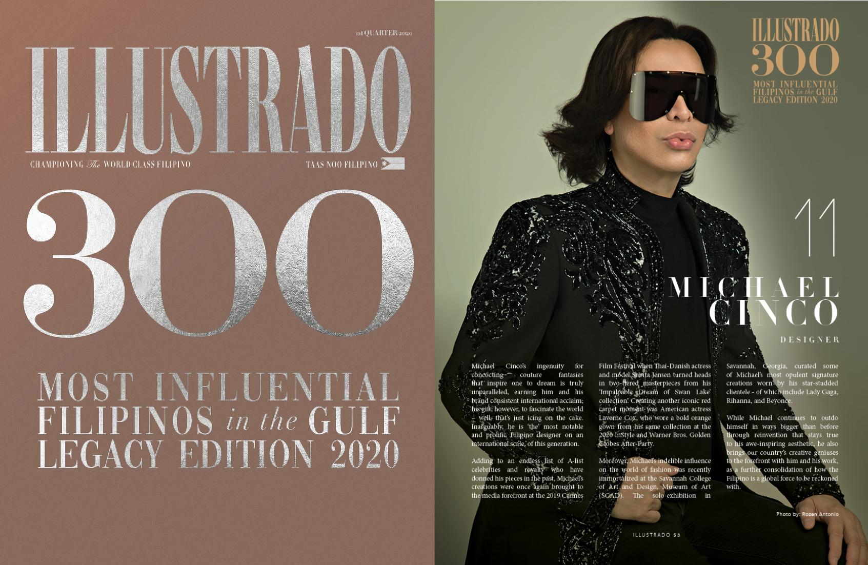 Michael Cinco Illustrado 300 Most Influential Filipinos In The Gulf Illustrado Magazine Filipino Abroad
