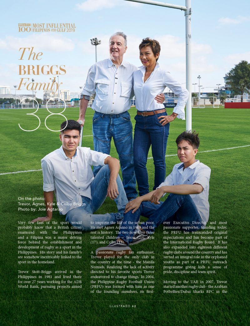 The Briggs Family - Most Influential Filipinos in the Gulf 2018