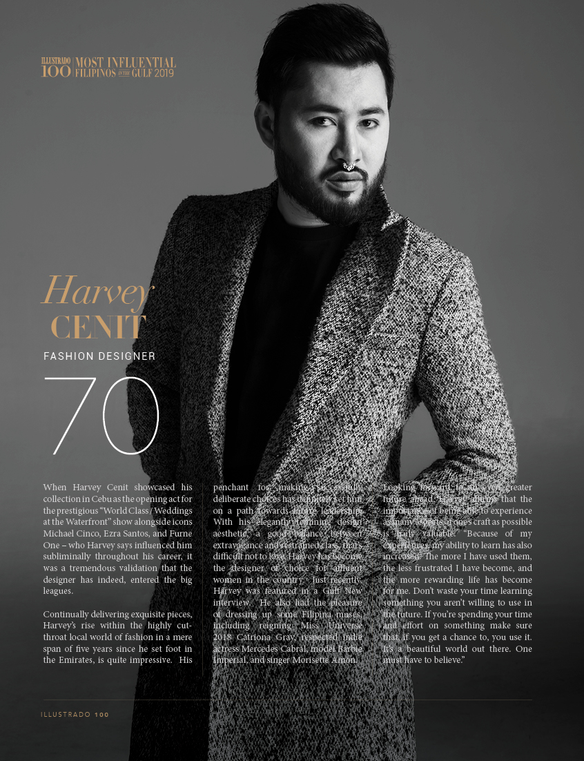Harvey Cenit - Most influential Filipinos in the Gulf 2018