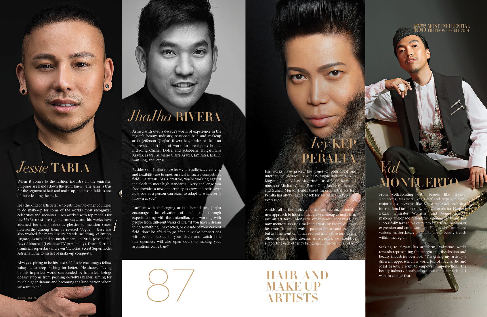 Hair and Makeup Artists - Most influential Filipinos in the