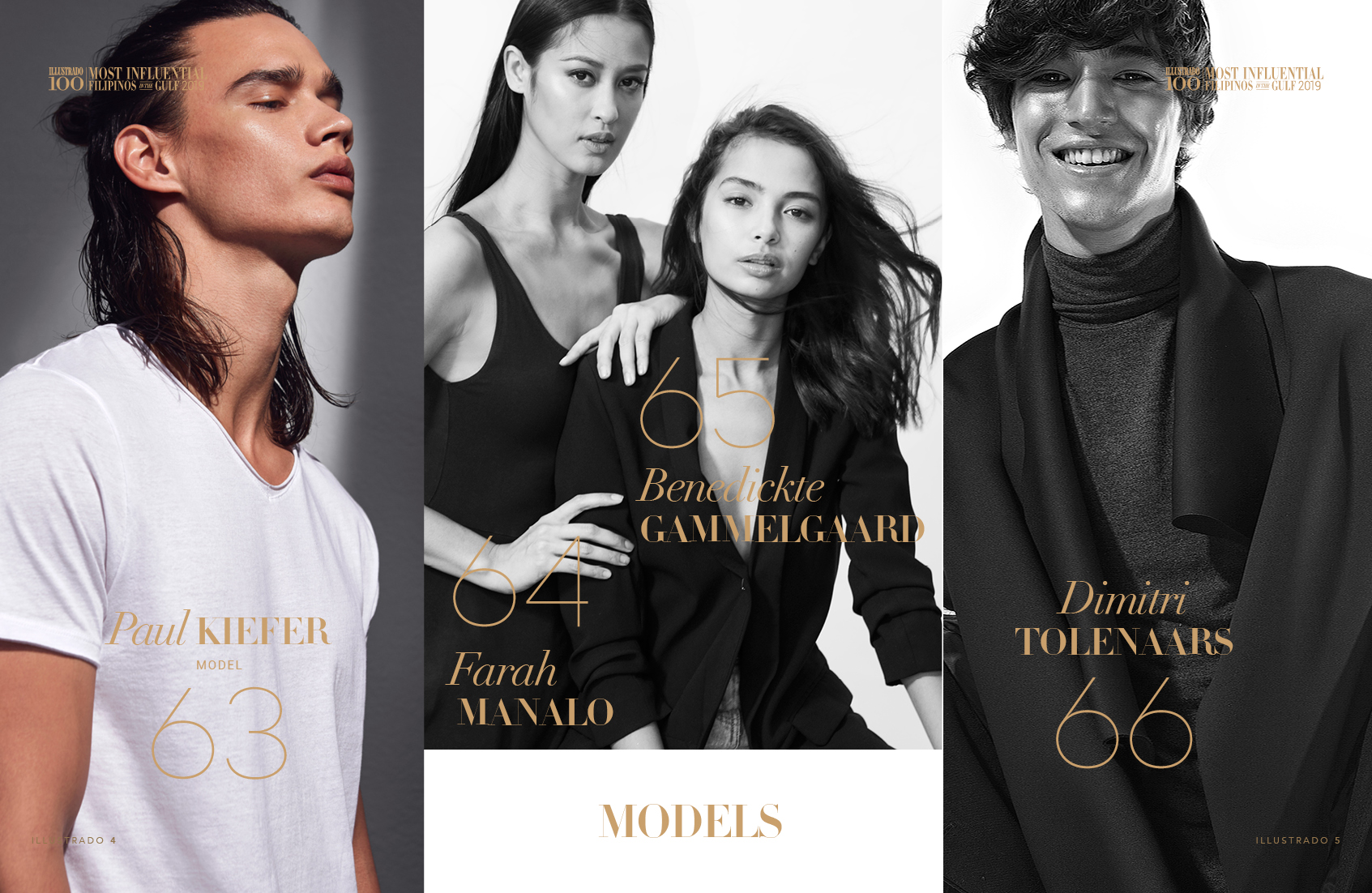 Models - Most Influential Filipinos in the Gulf 2018
