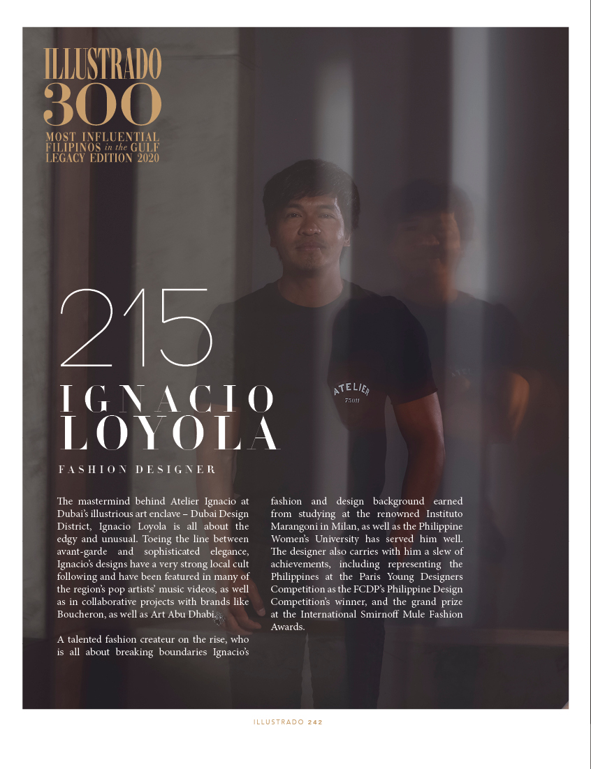 Ignacio Loyola Illustrado 300 Most Influential Filipinos In The Gulf Illustrado Magazine Filipino Abroad