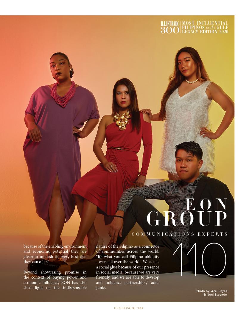 EON Group - Illustrado 300 Most Influential Filipinos in the Gulf
