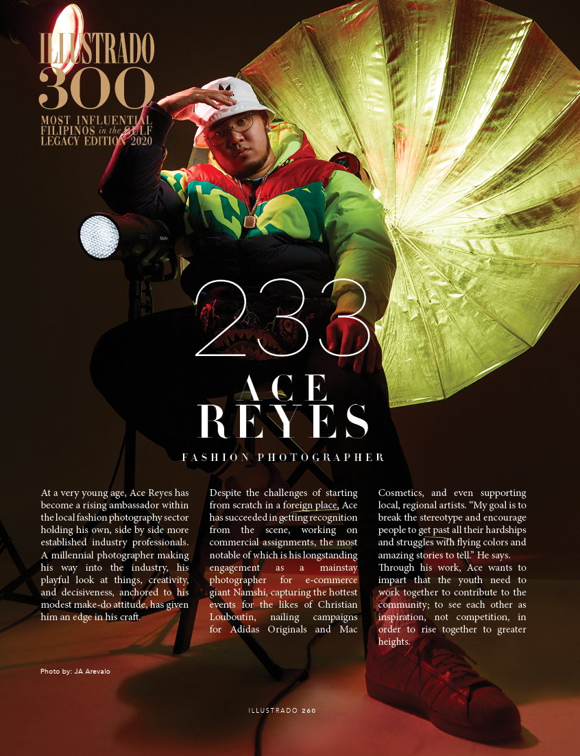 Ace Reyes - Illustrado 300 Most Influential Filipinos in the Gulf